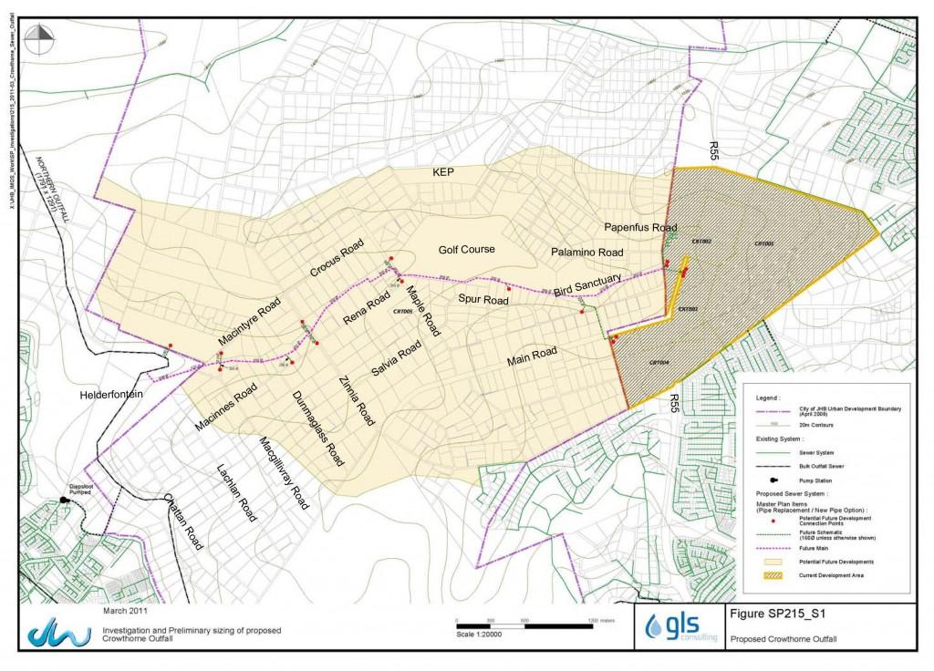 Proposed Kyalami Ridge Bulk Sewer Line